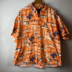 XXL Vintage Clearwater Outfitters Button Down